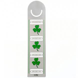 Irish Shamrock Bookmark